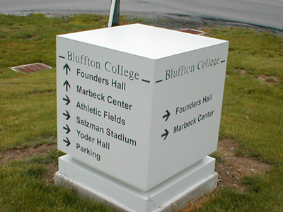 Directional Sign example