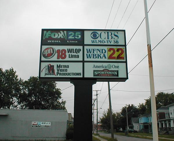 Pylon Sign example