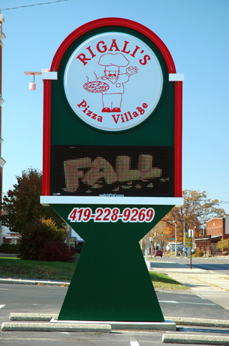 Monument Sign example