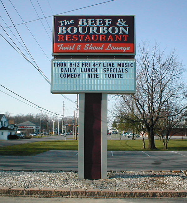 Pylon Sign example